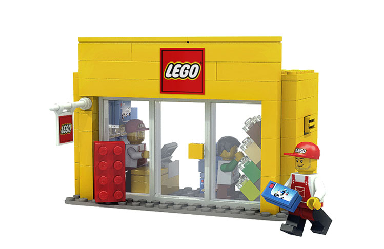 LEGO® CUUSOO Mini Shop Series